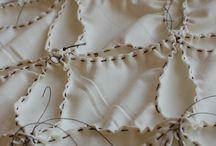 Dyeing techniques / Shibori / textiles / tiedye