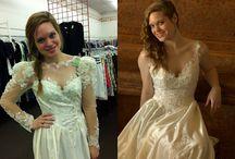 Brautkleid alt neu