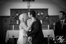 You May Kiss Your Bride / The first kiss as husband and wife.