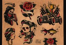 Old skool tattoo