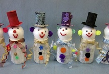 Christmas Craft Ideas! / by Brooke Aye