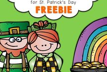 St. Patrick's Day Theme / Learn all about St. Patrick's day and fun activities to complete a St. Patricks day unit study!