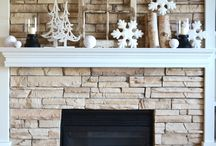 All About the Mantel / Decorating ideas throughout the seasons