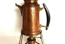 Alte Espresso- und Kaffeemaschinen