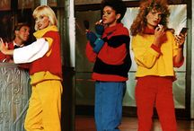 80 年代パーティーのファッション