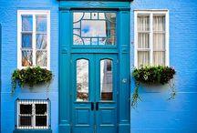 Trouvailles Pinterest: Bleu à l'honneur / Chaque vendredi, nous vous présenterons ce qui nous a inspiré sur Pinterest durant la semaine. Chronique présentée sur un thème précis, par un invité spécial ou simplement par l'inspiration du moment.