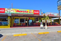 Mariscos La Morena Restaurant, San Felipe Mexico  / Wet your appetite with these pictures of great meals from the Mariscos La Morena restaurant.  Located along the boardwalk in San Felipe, Baja California, Mexico, this colorful restaurant has been serving delicious sea food meals at the same spot for over 16 years. http://www.mysanfelipevacation.com/local-area-guide.asp?cat=5436 #MariscosLaMorena