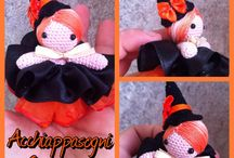 """Creations by """"Acchiappasogni Creazioni"""" / These are my handmade creations. Here you'll find many original amigurumi creatures made by me ^_^"""