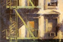 Paintings: cityscapes
