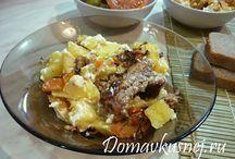 Пошаговые рецепты вторых блюд