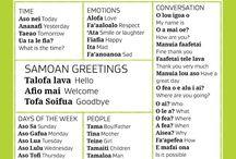 Gagana Samoa (language)