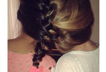 hairstyles / All the hairstyles are done by me ♥