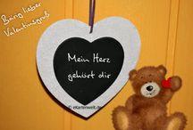 Grußkarten zum Valentinstag / Valentinstag, Valentine's Day