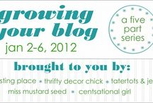 blogging and social media. / blogging tips and help. social media ideas and tips. / by Jennifer {StudioJRU}