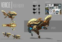 props, creature, character design