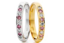 Pink Diamond Ladies / Add a pop of colour to your diamond rings - we're not talking about a great manicure!  Try a pink diamond for all things fun and girly.