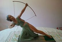 Art Deco Home Decor / Beautifully art deco furnishings, decorative arts and collectibles