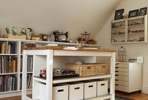 Where You Craft / Craft studio pictures, plus DIY ideas for your crafty space! / by OttLite
