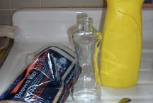 Cleaning narrow neck bottles