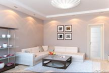 Lightweight and Light in ART DECO /  Extremely light interior in the style of Art Deco