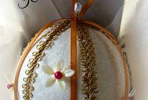 Handmade Victiorian Style Ornaments