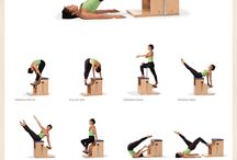 Pilates Exercises / Some of my favourite moves.
