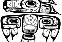 Pacific NW Native American artwork