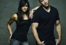 Dominic Torreto and Letty