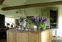 Køkken / Køkkenindretning - ideer til køkken mv.