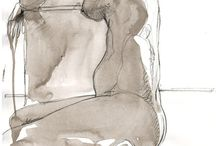 Nude croquis / Nude croquis
