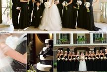 Black n White Wedding Glam