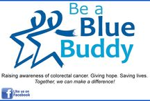 Be a Blue Buddy / A personal call-to-action to help educate and raise awareness of colorectal (colon) cancer, the importance of screening and early detection. Giving hope. Saving lives. #BeABlueBuddy #ColonCancer #ColonCancerAwareness www.facebook.com/BeABlueBuddy www.gracedelarosa.com/beabluebuddy.html / by Grace De La Rosa