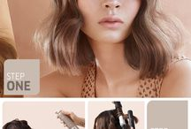 short hair styling / Ideas and inspiration for short hair.