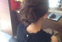 じゅんこの結婚式髪型