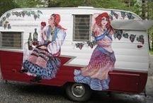 Caravan Art Ideas