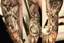 Tattoo Bras Complet Homme