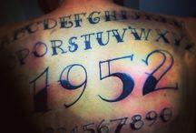 P.F. / Tatuaggi