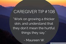 Caregiving / Eldercare, care planning