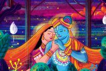 Gods Wedding Invitations / Creative Indian Wedding Invitation Designs with God Illustrations