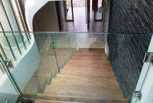 Stair doors