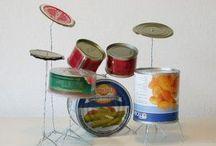 DIY Schlagzeug - Selbstgemachte Drums & Sachen aus Trommeln / Ein Schlagzeug selber bauen? Geht das und wenn ja wie? Auf dieser Drummer Pinnwand findest Du Inspirationen für DIY Schlagzeuge und Anleitungen für den Selbstbau Deines Drum Kits.