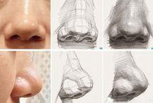 уроки рисования (части тела человека)