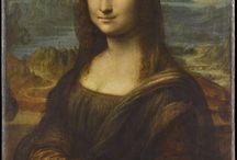 La Gioconda 1503-1506/1514 / Giocare con Leonardo, Cristo, la Gioconda e le Poste internazionali