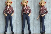 """Студия кукольной одежды """"Denim Vest"""" / Одежда для БЖД кукол"""