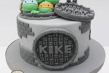 Neo cake / 8th bday Ninja Turtles