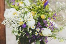 Bruidswerk veldbloemen