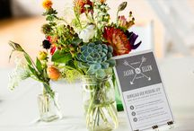 table decor and flowers
