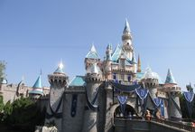 Sleeping Beauty Castle dressed for the Disneyland 60th / Sleeping Beauty Castle dressed in it's 60th finest