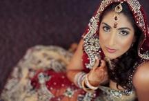 South Asian Bridal Hair & Makeup / South Asian Bridal Hair and Makeup Inspiration by Design Visage artists
