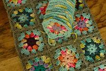 Granny square crochet lovely